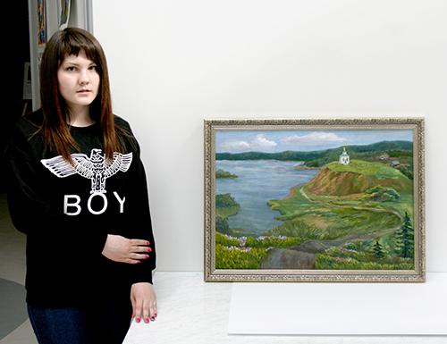Детская художественная школа Новоуральск Отдел Культуры  В выставочном зале художественной школы еще можно посмотреть дипломные проекты выпускников художки в жанре скульптуры графики